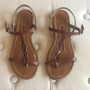 Brown New Directions Sandals